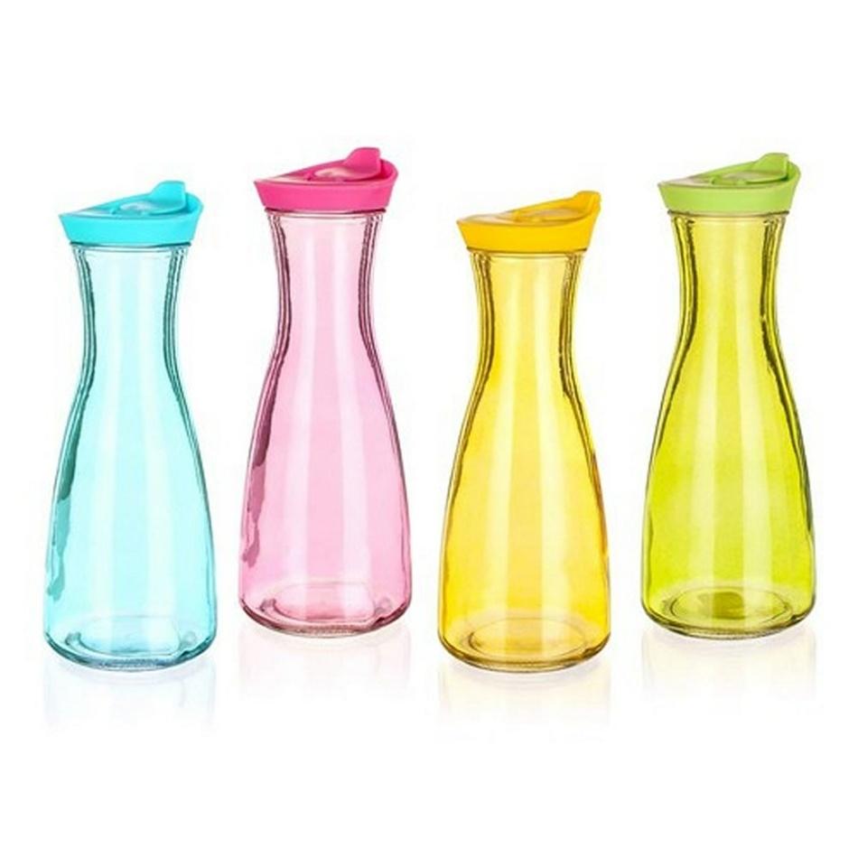BANQUET Farebná sklenená fľaša Misty 900 ml