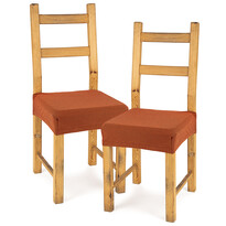 4Home Comfort multielasztikus székhuzat, terracotta, 40 - 50 cm, 2 db-os szett