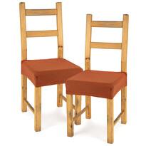 4Home Husă elastică scaun Comfort terracotta, 40 - 50 cm, set 2 buc