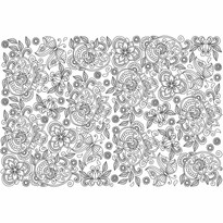 EuroGraphics Color me puzzle Skrytí motýli, 300 dílků + sada na zavěšení