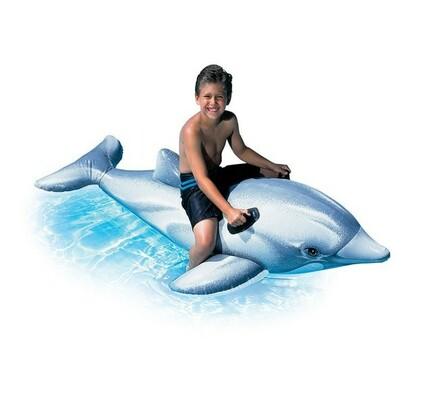 Nafukovací delfín s madly