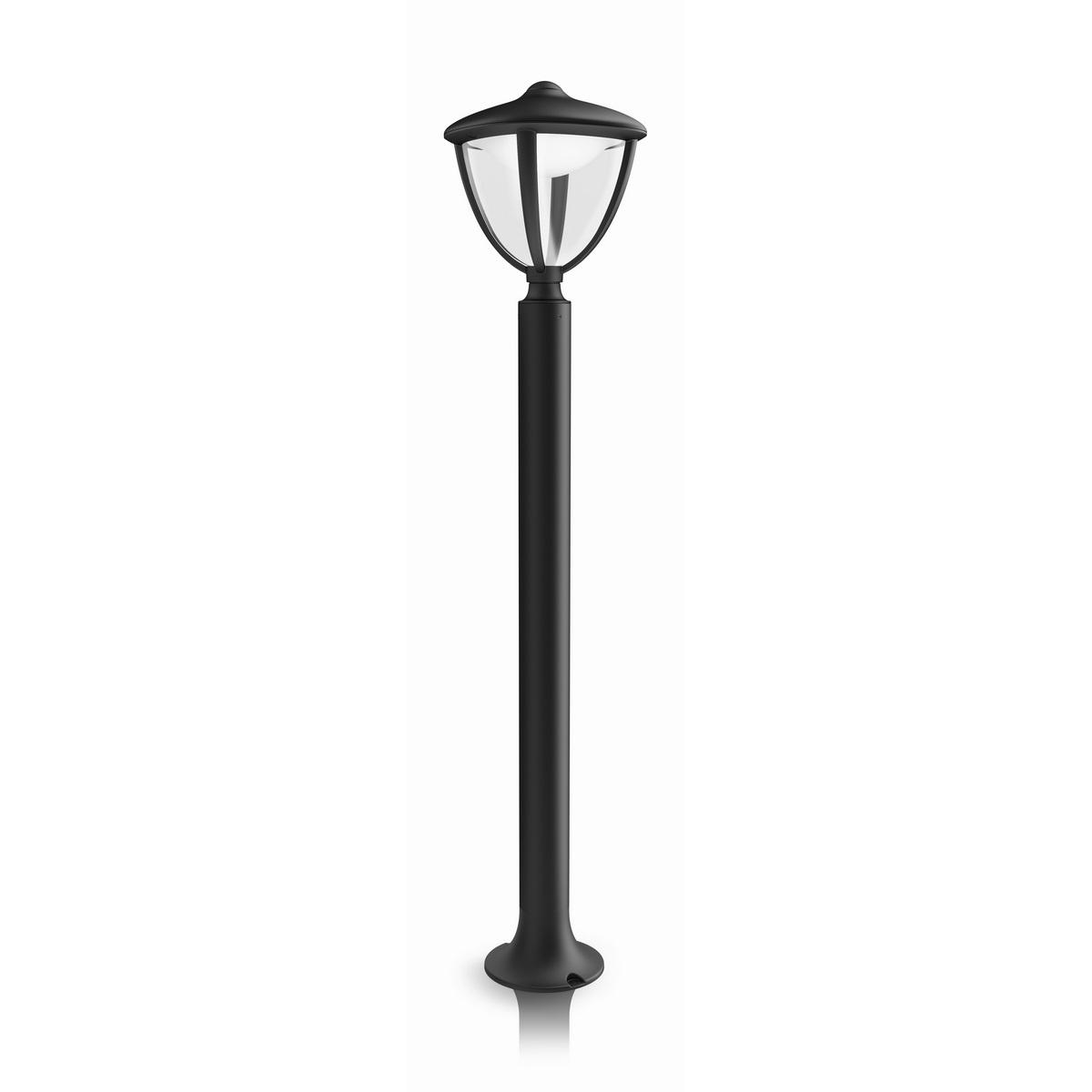 Philips 15473/30/16 Robin Vonkajšie stĺpikové LED svietidlo 85,5 cm, čierna