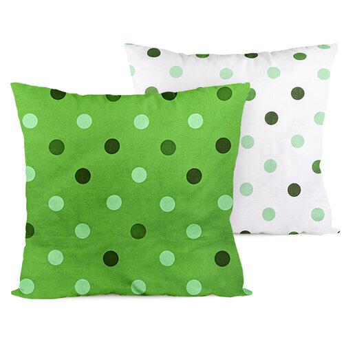 Față de pernă 4Home Buline, verde, 2 buc. 40 x 40 cm