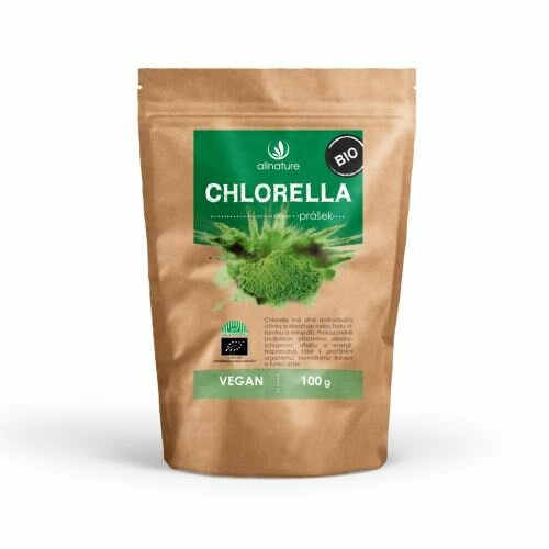 llnature Bio Chlorella prášek 100 g
