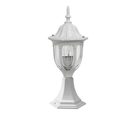 Venkovní stojací lampa Rabalux Milano bílá 8333, bílá, 43 cm