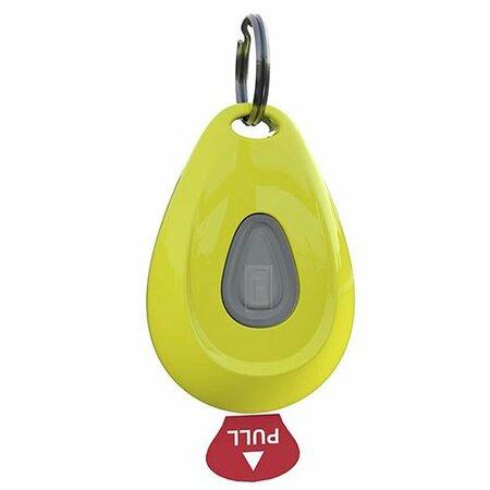 Ultrazvukový odpudzovač kliešťov a bĺch ZeroBugs, žltá