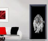 Fototapeta Leopard 90 x 202 cm