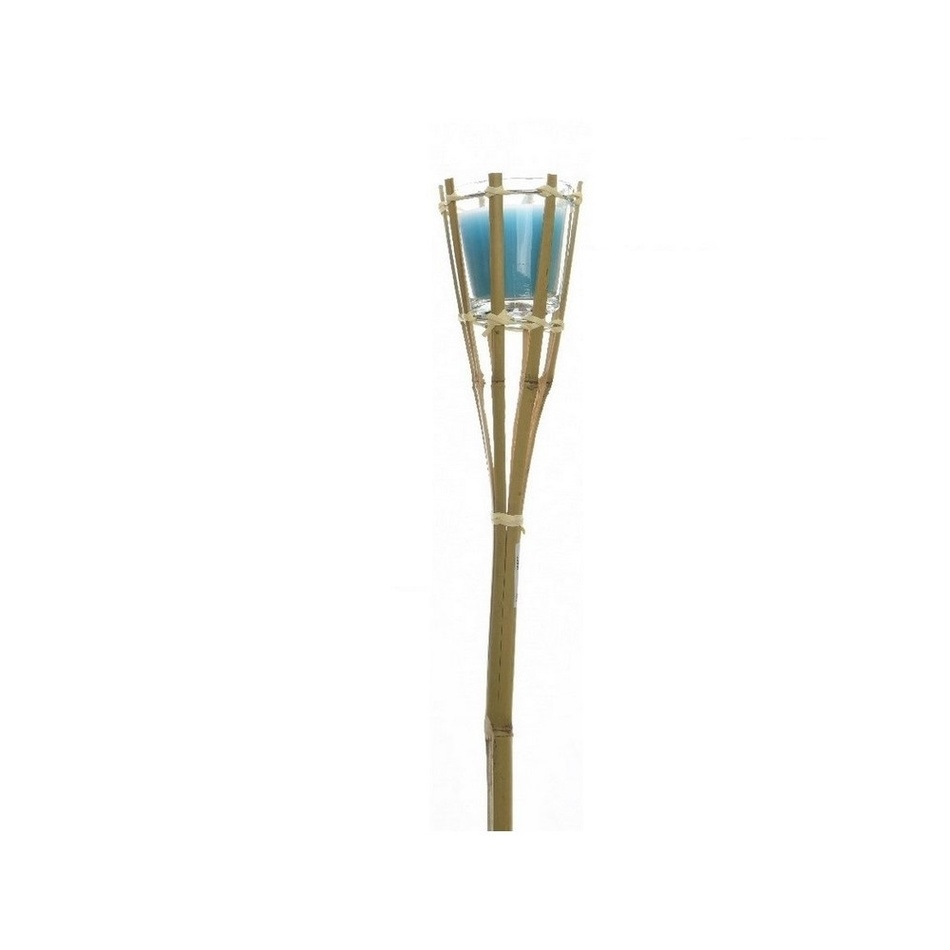 Fotografie Zahradní louče Citronella, modrá