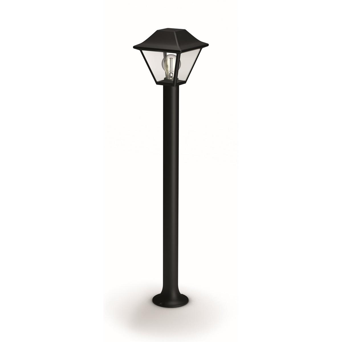 Philips 16497/30/PN Alpenglow Venkovní sloupkové svítidlo 89 cm, černá