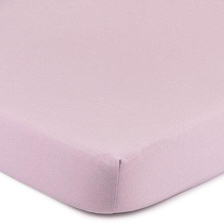 4Home Jersey prostěradlo s elastanem fialová, 160 x 200 cm
