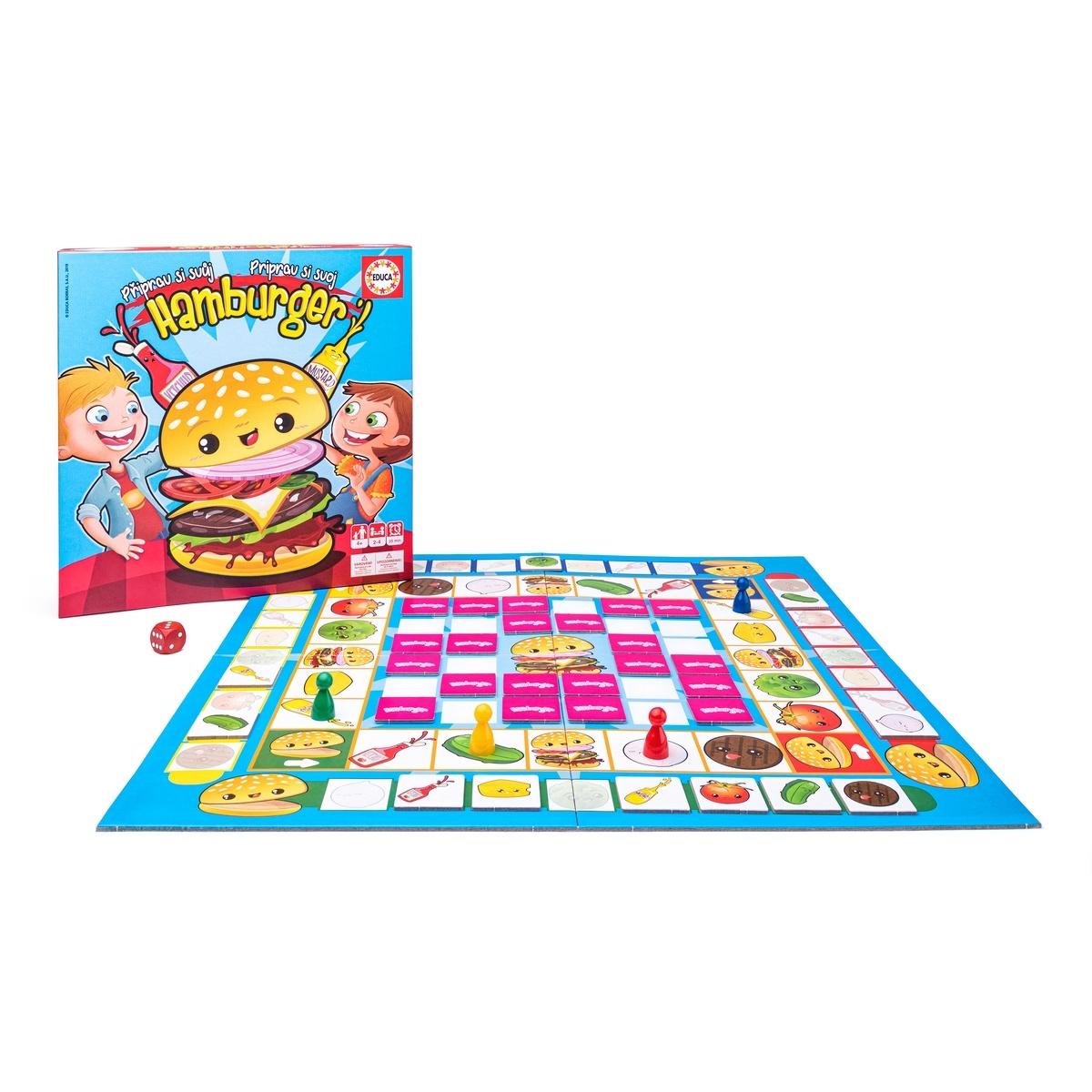 Educa Hra - Priprav si svoj Hamburger