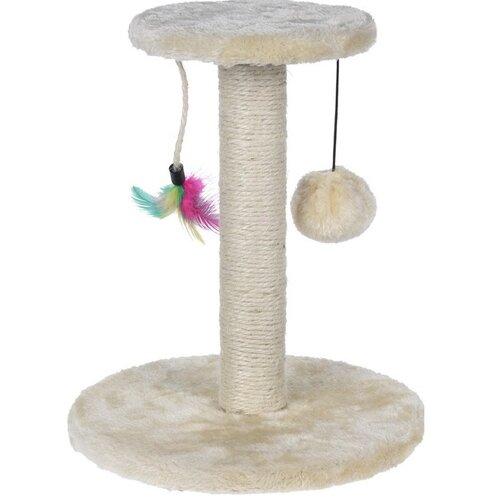 Koopman Škrabadlo Cat Tree béžová, 30 cm