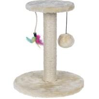 Škrábadlo Cat Tree béžová, 30 cm