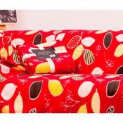Deka Milutek Druk červená, 130 x 170 cm