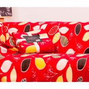 Deka Milutek Druk červená, 150 x 200 cm
