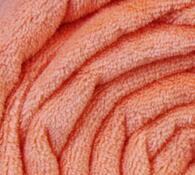 Deka Simonne z mikrovlákna, lososová