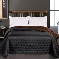 DecoKing Salice ágytakaró, fekete, 220 x 240 cm