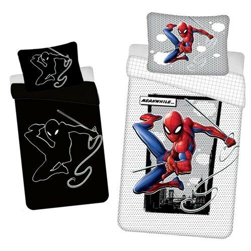 Bavlněné povlečení Spiderman glowing 02, 140 x 200 cm, 70 x 90 cm