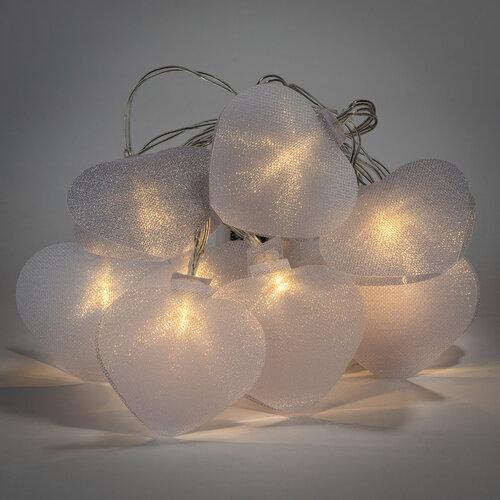 Lanț de luminițe LED Heart, 10 LED-uri