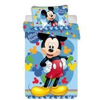 Lenjerie de pat Mickey 02 baby, pentru copii, din bumbac, 100 x 135 cm, 40 x 60 cm