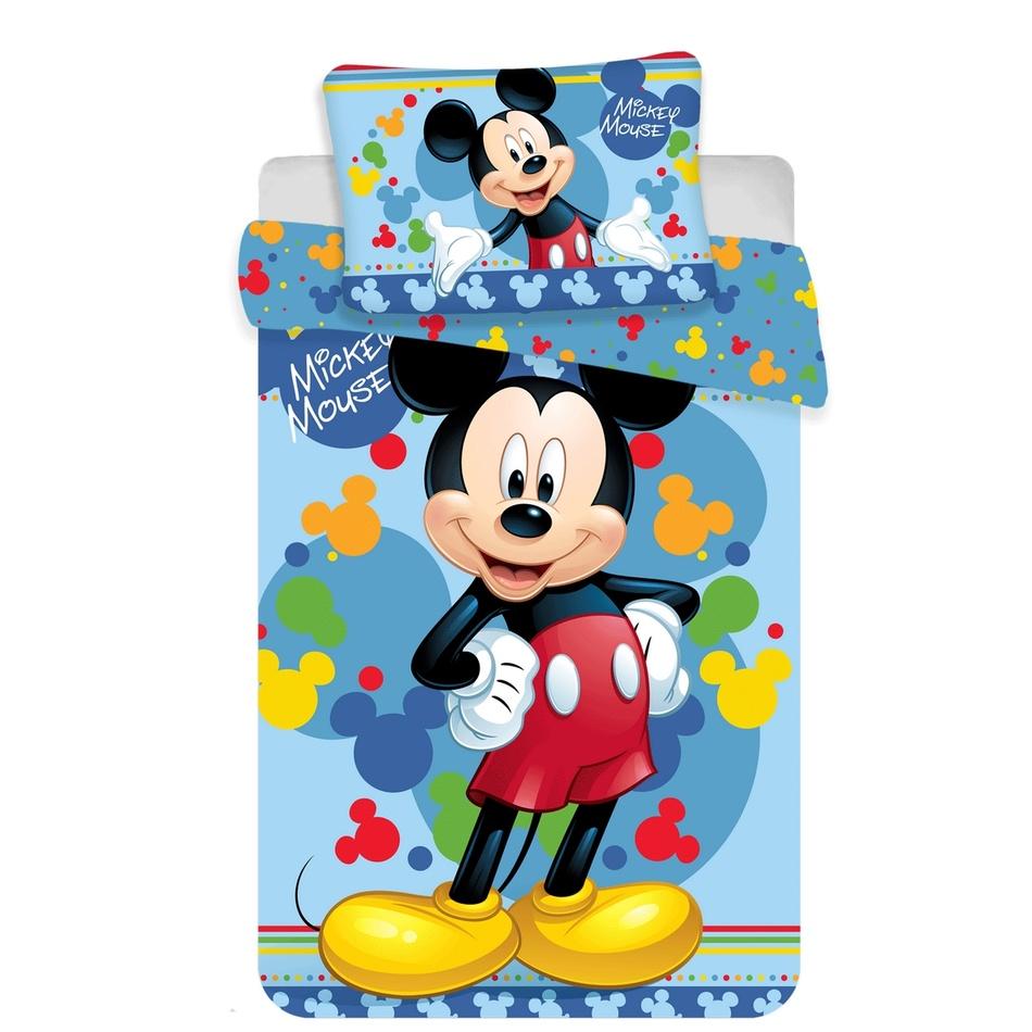 Jerry Fabrics Dětské bavlněné povlečení Mickey 02 baby, 100 x 135 cm, 40 x 60 cm