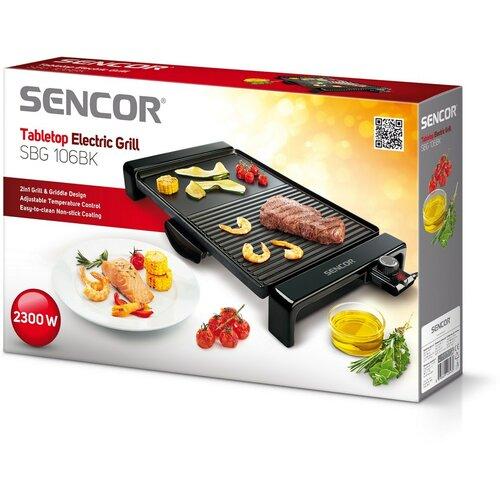 Sencor SBG 106 BK elektrický gril