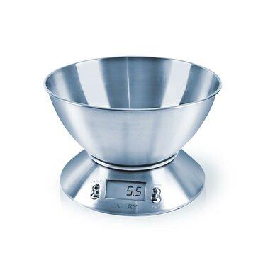 Orion Digitális konyhai mérleg, rozsdamentes acél, 5 kg