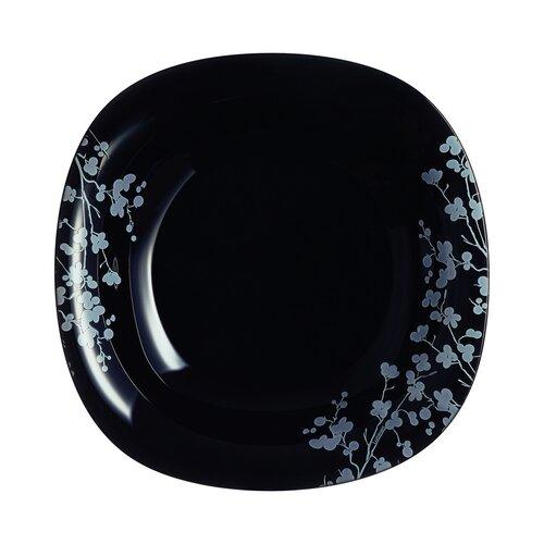 Luminarc Ombrelle mélytányér készlet, 21 cm 6 db, fekete