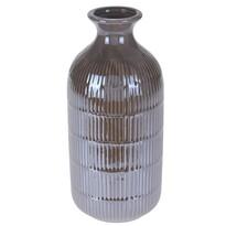 Loarre váza, barna, 10,5 x 22,5 cm
