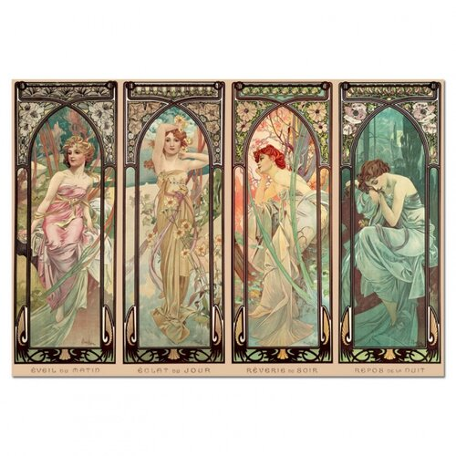 Puzzle A. Mucha