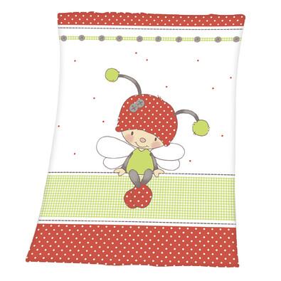 Dětská deka Luis Ladybug, 75 x 100 cm