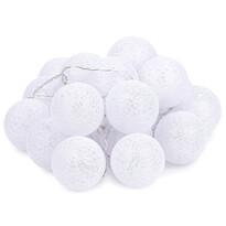 Łańcuch świetlny Redondo biały, 20 LED, 3 m, ciepły biały