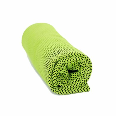 Ręcznik chłodzący zielony, 90 x 32 cm