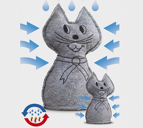 Odvlhčovač vzduchu kočka 7,5 x 6,5 x 13,5 cm