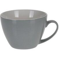 Koopman Porcelánový Jumbo hrnek, 400 ml, šedá