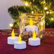 Čajové LED sviečky, 4 kusy