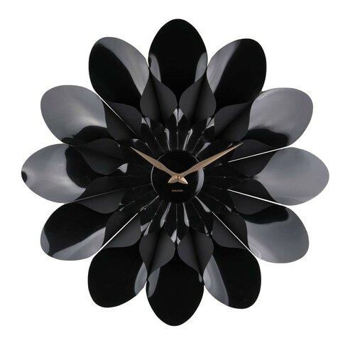 Karlsson 5731BK dizajnové nástenné hodiny, pr. 60 cm