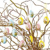 Velikonoční vajíčka s obrázkem, 12 ks