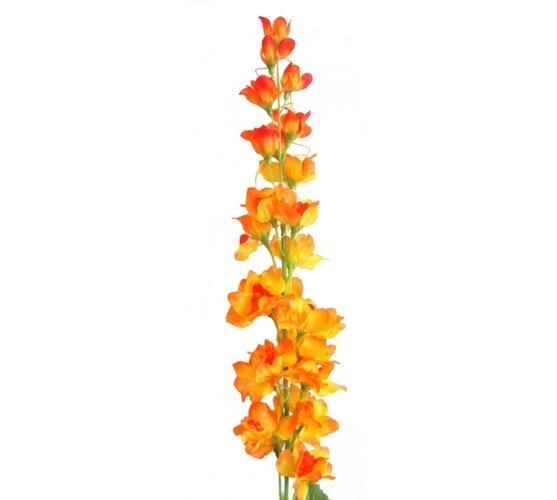 Umelá  kvetina stračonôžka, oranžová
