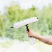 4Home Ściągaczka ze spryskiwaczem do mycia okien