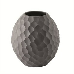 ASA Selection váza Carve 12 cm tmavě šedá