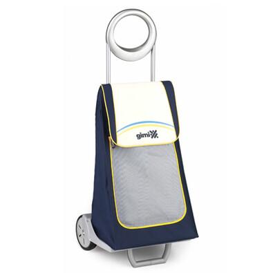 Family Live nákupná taška na kolieskach modrá