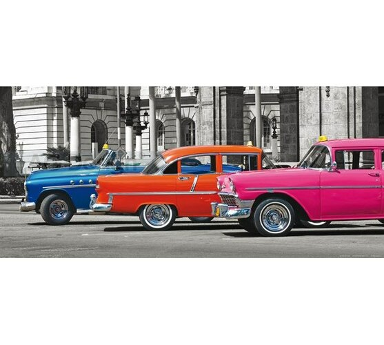 Fototapeta samochody 202 x 90 cm