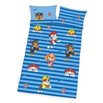 Herding Dziecięca pościel bawełniana do łóżeczka Psi patrol blue, 100 x 135 cm, 40 x 60 cm