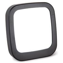 Zrkadlo Piazza čierna, 18,5 x 19,5 cm