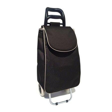 Brilanz Nákupná taška na kolieskach CARRIE, čierna
