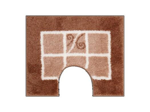 WC předložka Grund MERIDA karamelová, 60 x 50 cm, hnědá, 60 x 50 cm