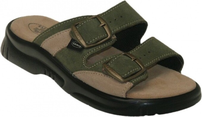 Santé Dámské zdravotní pantofle vel. 41 zelená