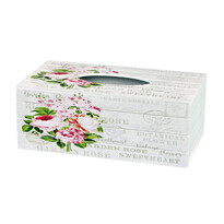 Box na vreckovky Garden rose, 24,5 cm