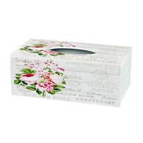 Garden rose zsebkendőtartó doboz, 24,5 cm